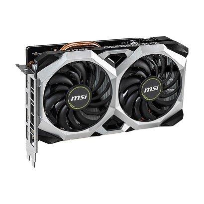 MSI MSI GeForce RTX 2060 DirectX 12 RTX 2060 VENTUS XS 6G OC 6GB 192-Bit GDDR6 PCI Express 3.0 x16 HDCP Ready Video Card