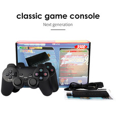 3500 Classic Retro Games 2.4G HD Video Game Console USB Game Stick Wireless Handheld Game Console Player