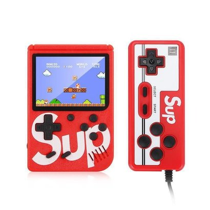 400 in 1 Handheld Mini SUP Video Game Consoles Box with extra Controller (Choose Color)