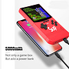 500 IN 1 Retro Video Game Console Handheld Game Portable Pocket Game Console, 5000Mah Power Bank (Choose Color)