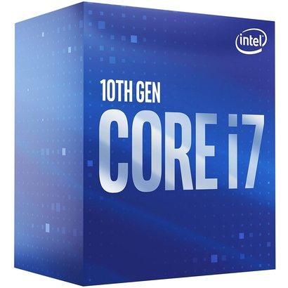 Intel Intel Core i7-10700 Desktop Processor 8 Cores up to 4.8 GHz LGA 1200 (Intel 400 Series Chipset) 65W, BX8070110700
