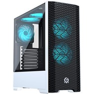 "Cryo-PC Cryo-PC ATX Mid Tower Intel Core i5-9400 2.9Ghz 6-Core 6-Thread, GTX 1660 6GB, 16GB (2x 8GB) DDR4, 256GB NVMe SSD + Seagate 4TB 3.5"" HDD, Windows 10 Pro"