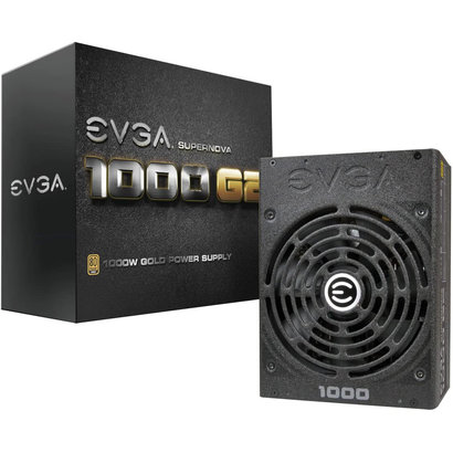 EVGA EVGA SuperNOVA 1000 G2, 80+ GOLD 1000W, Fully Modular ATX Power Supply 120-G2-1000-XR (Bulk Pkg)