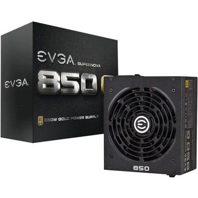 EVGA EVGA Supernova 850 GS, 80+ Gold 850W, Fully Modular, EVGA ECO Mode, ATX Power Supply 220-GS-0850-V1 (Bulk Pkg)