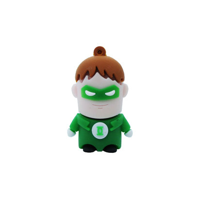Gigacord Gigacord 8GB USB 2.0 Flash Drive, Green Lantern Hero
