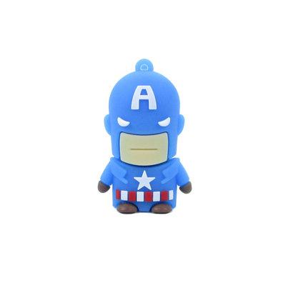 Gigacord Gigacord 8GB USB 2.0 Flash Drive, Captain America Hero