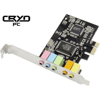 Cryo-PC Cryo-PC PCIe 5.1 Stereo Sound Card Cmedia CMI8738