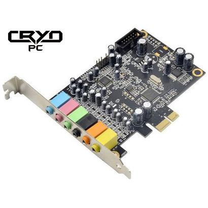 Cryo-PC Cryo-PC PCIe 7.1 Stereo Sound Card Cmedia CM8828 CM9882A