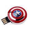 Gigacord Gigacord 8GB USB 2.0 Flash Drive, Captain America Shield