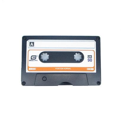 Gigacord Gigacord Cassette Tape Retro USB 2.0 Flash Drive, Black (Choose Size)