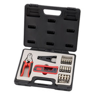 18 Pieces Compression Connector Tool kit