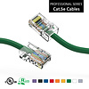 75 Foot Cat5e UTP Ethernet Network Non Booted Cable 24AWG Pure Copper, Green Cat-5e (75 Ft.)