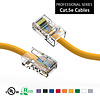 40 Foot Cat5e UTP Ethernet Network Non Booted Cable 24AWG Pure Copper, Yellow Cat-5e (40 Ft.)