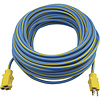 100Ft 14/3 Blue & Yellow Outdoor Extension Cord