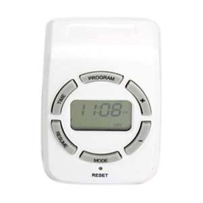 Weekly Digital Timer Single 3-Prong Outlet