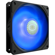 Coolermaster Cooler Master SickleFlow 120 V2 Blue Led 120mm Square Frame Fan with Air Balance Curve Blade Design, Sealed Bearing, PWM Control for Computer Case & Liquid Radiator