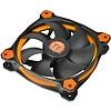 Thermaltake Thermaltake Riing 12 High Static Pressure 120mm Circular LED Case Radiator Cooling Fan CL-F038-PL12OR-A Orange