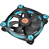 Thermaltake Thermaltake Riing 14 High Static Pressure 140mm Circular LED Ring Case/Radiator Fan with Anti-Vibration Mounting System Cooling CL-F039-PL14BU-A Blue