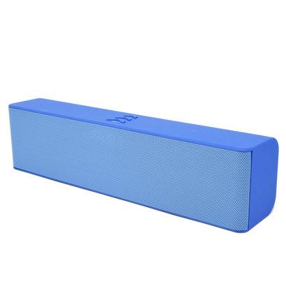 ML-53U 6W Wired/Wireless Bluetooth 3.0 FM Speaker with Mic, Blue