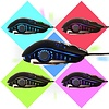 Sades Flash Wing 2400DPI 6-button Gaming Mouse, LED Color Changing, Black