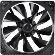 Thermaltake Thermaltake 120mm Pure 12 Series Black Quiet High Airflow Case Fan CL-F011-PL12BL-A