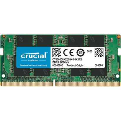 Crucial Crucial 4GB Single DDR4 2400 MT/S (PC4-19200) SR x8 SODIMM 260-Pin Memory - CT4G4SFS824A