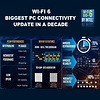 Cryo-PC Cryo-PC PCIe 3000Mbps PCIe WiFi 6 Card for PC with Bluetooth 5.1, 802.11AX Dual Band Wireless Network Adapter card with MU-MIMO, Ultra-Low Latency