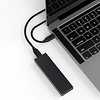 Cryo-PC Cryo-PC USB 3.1 Type-C Gen2 10Gbps M.2 NVME SATA SSD Enclosure, Aluminum