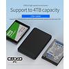 """Cryo-PC Cryo-PC USB 3.0 2.5"""" Tool Free Enclosure w/LED, Black"""