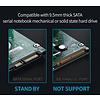 """Cryo-PC Cryo-PC USB 3.0 2.5"""" Tool Free Enclosure w/LED, Red"""