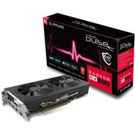 MSI Sapphire Radeon 11265-05-20G Pulse RX 580 8GB GDDR5 Dual HDMI/ DVI-D/ Dual DP OC with Backplate (UEFI) PCI-E Graphics Card Graphic Cards