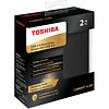 Toshiba Toshiba HDTD320XK3EA Canvio Slim 2TB Portable External Hard Drive USB 3.0, Black