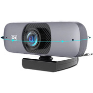 Cryo-PC Cryo-PC USB 2K 2560x1440 HD Webcam with Mic, for PC Monitor Laptop Desktop (Web Cam)