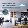 TP-Link TP-Link EAP225 V3 Wireless MU-MIMO Gigabit Ceiling Mount Access Point, Supports 802.3af PoE and Passive PoE(Injector Included), AC1350