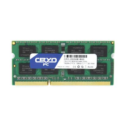 Cryo-PC Cryo-PC 8GB SoDIMM DDR3L 1600MHZ PC3L-12800S CL11 1.35V RAM