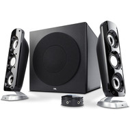 "Cyber Acoustics Cyber Acoustics CA-3908 2.1 Stereo 46W RMS Speaker System with 6.5"" Subwoofer and Control Pod - Computer and Home Audio Set with 3.5mm AUX Input for Cellphone, Tablet, Desktop, Laptop, or Gaming"