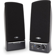 Cyber Acoustics Cyber Acoustics 4 Watt 2pc Amplified Speaker System 3.5mm Plug (Retail Box)