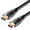 Monster 35Ft Monster Black Platinum Ultra HD HighSpeed HDMI 2.0 Cable with Ethernet, 27Gbps, 60/120HZ, 8-16 Bit, Recertified