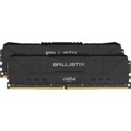 Crucial Crucial Ballistix 3200 MHz DDR4 DRAM Desktop Gaming Memory Kit 16GB (8GBx2) CL16 BL2K8G32C16U4B (Black)