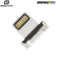 Gigacord Gigacord iPhone MAGtek Magnetic Charging/Sync Connector, 3A, Fast Charge *Compatible with all MAGtek Cables