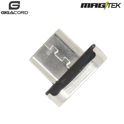 Gigacord Gigacord Micro USB MAGtek Magnetic Charging/Sync Connector, 3A, Fast Charge *Compatible with all MAGtek Cables