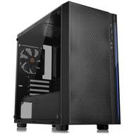 Thermaltake Thermaltake Versa H18 Tempered Glass Black Spcc Micro ATX Gaming Computer Case CA-1J4-00S1WN-01