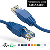 35 Foot Cat6A UTP Ethernet Network Booted Cable 24AWG Pure Copper, Blue Cat-6A (35Ft.)