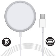 Gigacord Gigacord 15W Magsafe Wireless Magnetic Charger, White iPhone 12 Pro Max