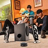 Cyber Acoustics Cyber Acoustics CA-3602FFP 2.1 Speaker Sound System with Subwoofer 62 Watt and Control Pod - Great for Music, Movies, Multimedia Pcs, Macs, Laptops and Gaming Systems