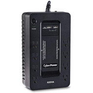 CyberPower CyberPower ST625U Standby UPS System, 625VA/360W, 8 Outlets, 2 USB Charging Ports, Compact