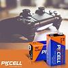 PKCELL Ultra 9V 6LR61 Alkaline Battery, Blister Card