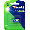 PKCELL 1-Pack 3V CR2 850mAh Lithium Manganese Battery
