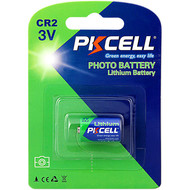 PKCELL 1-Pack 3V CR2 850mAh Lithium Manganese Battery