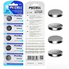 PKCELL 5-Pack CR1616 3V Button Cell Lithium Manganese Battery